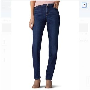 NWT Lee Women's Instantly Slims Straight Leg Jeans